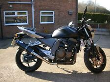 Kawasaki Z750 2004-06' Stainless Black Oval Carbon outlet road-legal MTC Exhaust