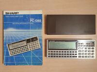 SHARP Pocket Computer PC-1360 mit CE-212M (RAM Card 8 KB), BASIC Calculator #755