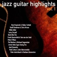 JAZZ GUITAR HIGHLIGHTS VOL.1  CD NEUF