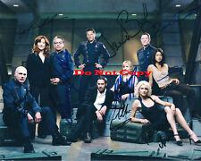 Battle Star Galactica Cast autographed 8x10 RP photo