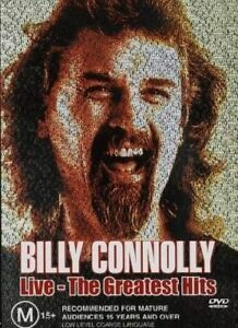 BILLY CONNOLLY LIVE - THE GREATEST HITS DVD 2001 BRAND NEW UNSEALED REGION 4