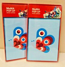 Lot of 2 MoMA Pop Up Thank You Note Cards By Philippe Ug Museum of Modern Art-B4