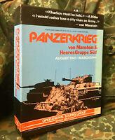 PANZERKRIEG A. G. SOUTH WORLD WAR II WAR GAME 1978 EDN ALL UNIT COUNTERS PRESENT