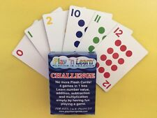 Play 'n Learn Games Challenge Fun, Educational Math Game, 4 Games in One Box