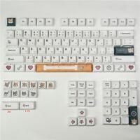 XDA Keycap PBT Doge Pattern Key Caps 87 104 Full Set For Cherry MX Keyboard New
