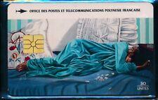 TELECARTE POLYNESIE PF28 LA LETTRE GEM1A 12/94