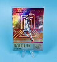 De'Aaron Fox 2019-20 Panini Illusions Illumination SP Sacramento Kings HOT🔥🔥📈