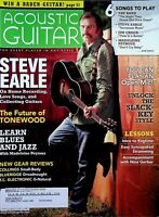 Acoustic Guitar Magazine February 2008 Steve Earle on Home Recording m573