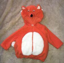 Carter's Costume 12 Mos Unisex Fox Orange