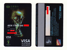 CA0158 China Industrial Bank Transparent bank card FIFA WORLD CUP 1pc