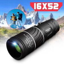 16x52 Zoom Mini Dual Focus Telescope Monocular O2m2 KT