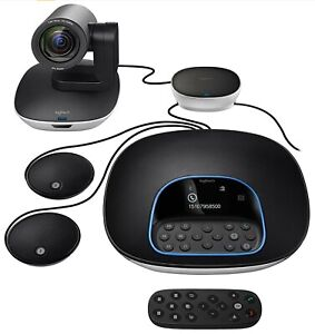Logitech 960-001060 Group Video Conferencing System Open Box