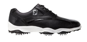 NEW FootJoy Men's 58014 Superlites Black Golf Shoe Size 8