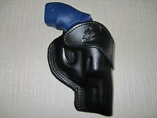 "Taurus 85 38 special with 2"" barrel  formed OWB leather belt holster"
