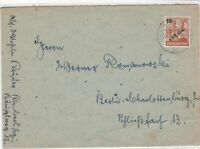 Germany 1949 Berlin Overprint Berlin Charlottenburg Cancel Stamps Cover Ref24103