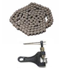 428 140 Links Drive Chain + Chain Break 125cc 140cc PIT Quad Dirt Bike ATV Buggy