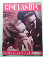 Carole Lombard James Stewart Joan Crawford Nancy Kelly Cinelandia Magazine 1939