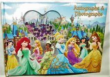 """New"" Disney Princess ~ Autograph & Photograph Book ~ Rapunzel Jasmine Sequin"