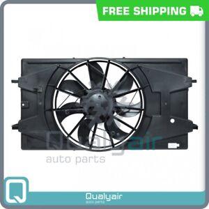 AC Radiator-Condenser Fan fits Saturn Ion QU