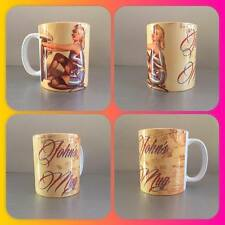 personalised mug cup vintage retro pin up pinup mechanic 50s style classic car