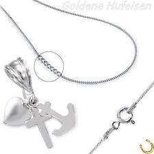 Modeschmuck-Halsketten mit Herz-ohne Stein