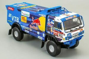 1:43 Kamaz-43509 Rally Dakar No.511 + Magazine #1