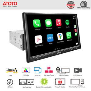 "ATOTO 8"" F7 Pro Single-DIN Bluetooth Car Stereo -CarPlay & Android Auto,AutoLink"