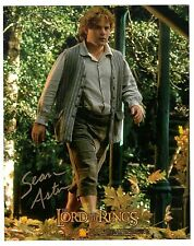 SEAN ASTIN SIGNED 8X10 PHOTO LORD OF THE RINGS AUTO AUTOGRAPH