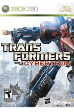 Transformers: War for Cybertron Xbox 360 Game For T-kids
