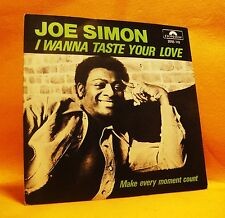 "7"" Single Vinyl 45 Joe Simon I Wanna Taste Your Love 2TR 1979 (MINT) Funk Soul"