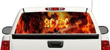 ACDC AC/DC rock band hard rear window graphics Decal Sticker 66''x22'' Truck SUV