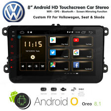 "8"" Android Car Stereo BT USB GPS Radio HD Screen for VW T5 MULTIVAN PASSAT Golf"