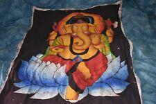 Vintage Ganesh Batik Wall Hanging