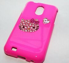 Samsung Galaxy S2 Epic 4G Touch D710 Sprint - HARD CASE PINK HELLO KITTY BLING