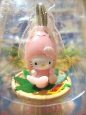Sanrio Hello Kitty Prawns TOYAMA Charm Mascot Cell Phone Strap Japan New