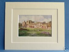 FURNESS ABBEY  CUMBRIA VALE OF NIGHTSHADE VINTAGE PRINT