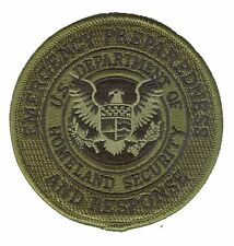 "D35EPRgreen Homeland Security Emergency Preparedness Response 3.5"" jungle patch"