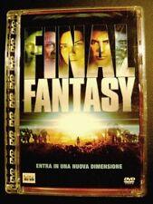 Dvd Final Fantasy - ed. Super Jewel Box Usato Raro