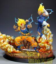 DBZ -Dragon Ball Z-SJJ2 Goku VS Majin Vegeta Resin statue figure (ver.2)