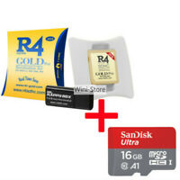 Brand New 2020 R4 Gold Pro SDHC for 2DS 3DS NDS NDSi NDSL game card +16G SD card