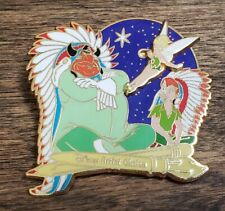Tink's Summer Quest Artist Choice Indian Chief, Peter Pan and Tinker Bell Pin LE