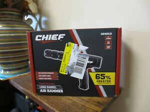 "New! Chief Professional LONG BARREL AIR HAMMER  CH401LB 4"" Stroke (5240)"