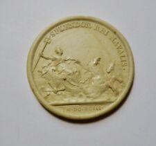 Médaille en plâtre splendor rei novalis 41 mm