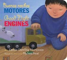 Buenas noches motoresGood Night Engines bilingual board book (Spanish and Englis