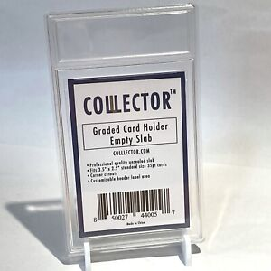 Empty Graded Card Slab/Holder - Professional Quality (1 slab) - Colllector Brand