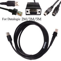 2M/3M/5M USB / COM / Computer Wedge Cable for Datalogic BarCode Scanner LOT