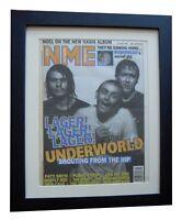 UNDERWORLD+Born Slippy+NME 1996+POSTER+AD+FRAMED+RARE ORIGINAL+FAST GLOBAL SHIP