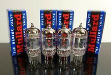 PLATINUM  Matched Quad (4) Mullard ECC83/12AX7 tubes - Russia