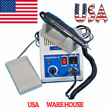 Dental Marathon Lab 35K RPM Electric Micromotor Drill Motor Polisher W/Handpiece