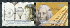 More details for north macedonia 2019 mnh gargerin anders celsius 2v set people science stamps